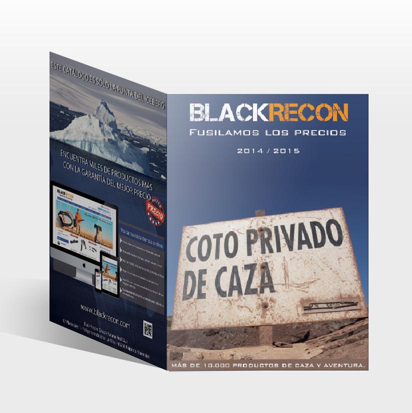 """Nuevo catálogo impreso """"Especial Caza 2014-2015"""" de la armería BlackRecon"""