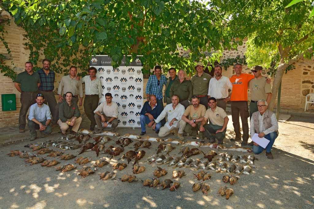Resultado final tras la citada jornada de caza en Finca Mochares. / Foto: José David Gómez.