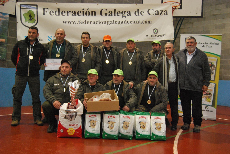 "La cuadrilla lucense ""Aparta que ahí vamos"" ganó la ""III Supercopa Galega de Caza de Zorro"""