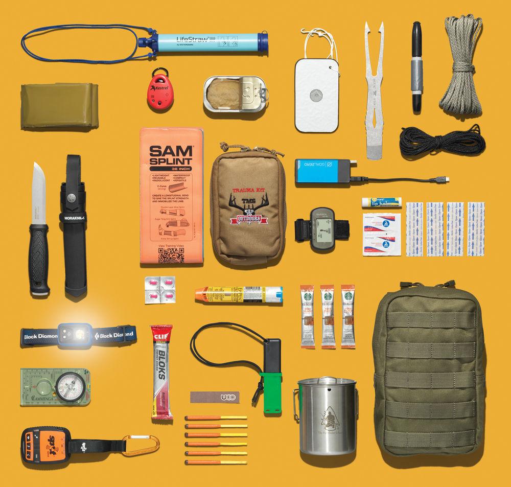 Súper kit supervivencia: 18 artículos para cazadores y pescadores