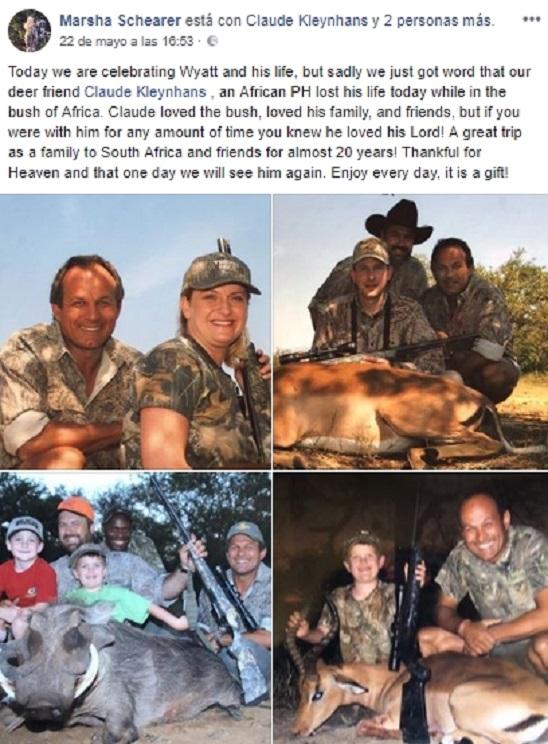 bufalo mata cazador