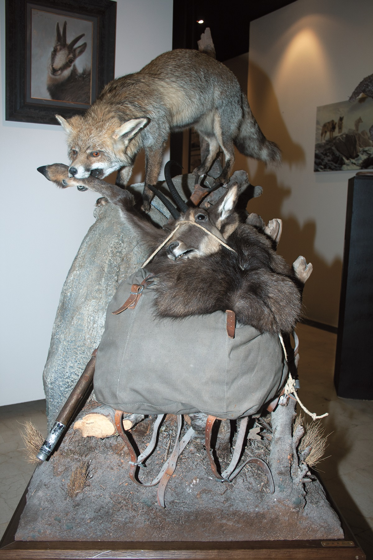 arropado cazador