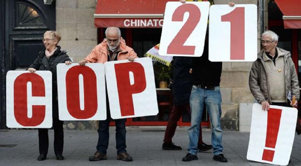 Protesta en Nantes contra las restricciones impuestas tras los atentados a las concentraciones sobre la Cumbre del Clima. / Foto: JEAN-SEBASTIEN EVRARD (AFP)