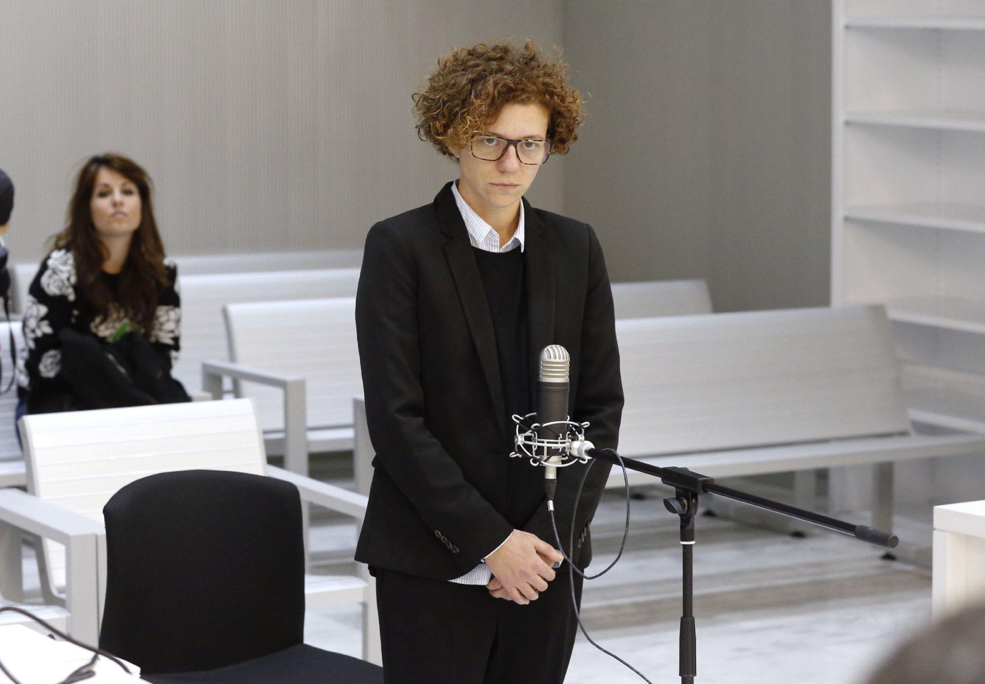 La concejala de Juventud y Protección Animal del Ayuntamiento de Alicante, Marisol Moreno, durante el juicio en la Audiencia Nacional. / Ballesteros EFE