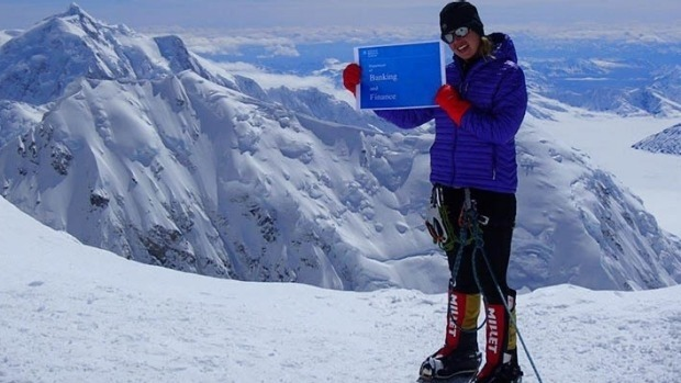 Maria Strydom en everest