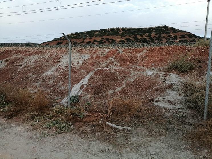 Adif sepulta vivos a miles de conejos cegando con cemento sus madrigueras en Jaén