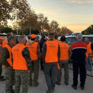 Más de 200 cazadores dan una lección de solidaridad participando en la búsqueda del cadáver de Dana Leonte