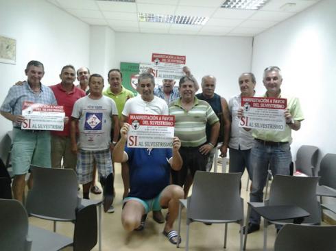 Reunión de coordinación de la manifestación en el Campo de Gibraltar / Foto: FAC
