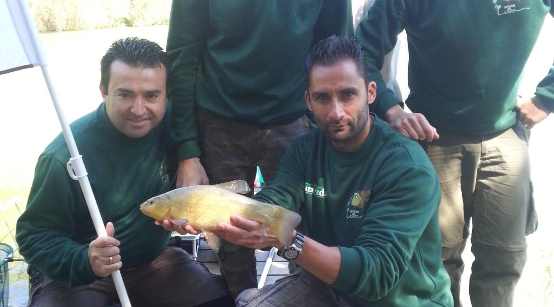 Destinos de pesca (embalse de la Santa Espina)