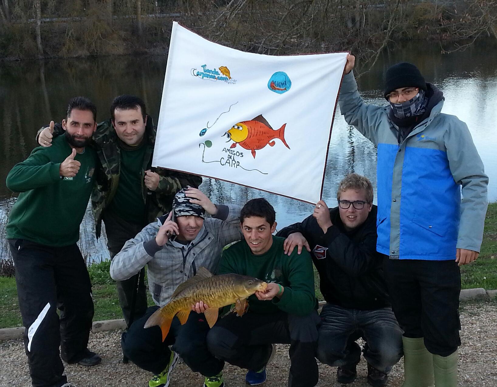 La pesca al carpfishing: sinónimo de amistad