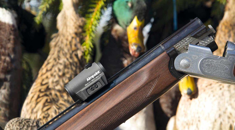 Aimpoint Micro S-1: el punto rojo también se puede usar en la caza menor