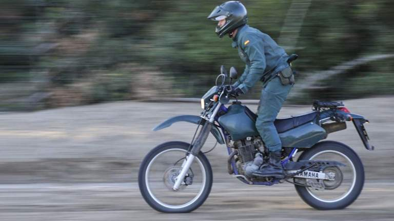 Agente del Seprona de servicio. © Guardia Civil