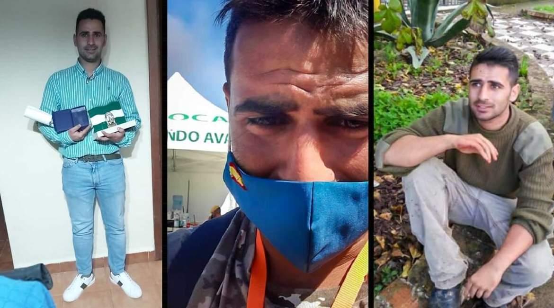 El cazador que ayudó a extinguir los incendios de Huelva recibe el Premio al Mérito Medioambiental de Andalucía
