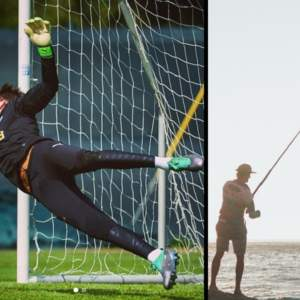 Este jugador de fútbol se va de pesca el mismo día que debía firmar la renovación con su equipo