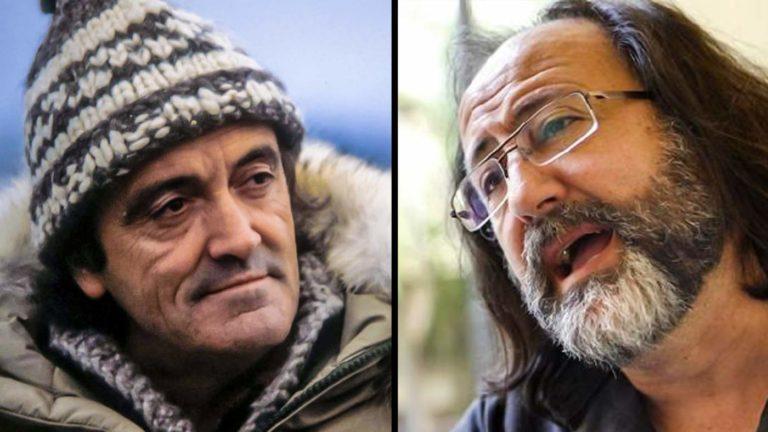 Félix Rodríguez de la Fuente y Lobo Marley. © Fundación FRF y YouTube