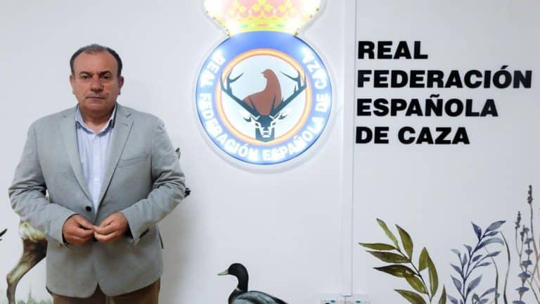 Manuel Gallardo en la sede de la RFEC. @ RFEC