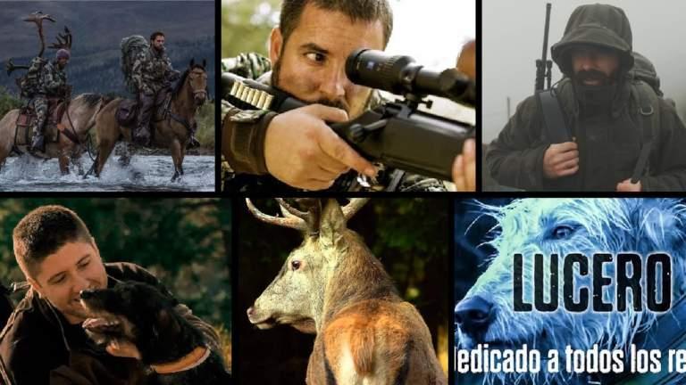 Imagen de cada uno de los vídeos de caza