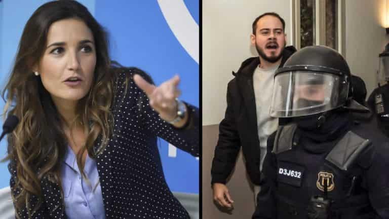 Raquel Sanz y Pablo Hasel
