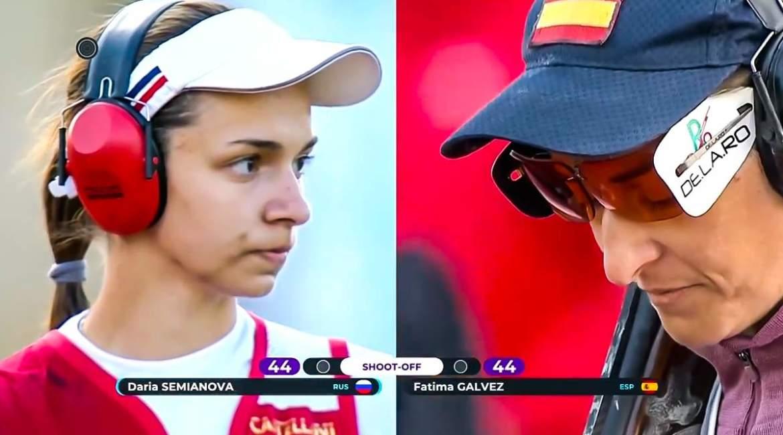 Fátima Gálvez consigue el oro para España en la Copa del Mundo de Trap tras este brutal desempate