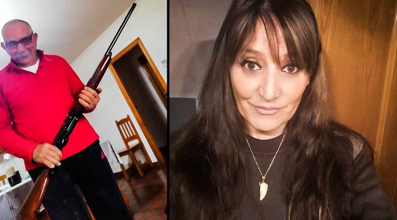 Esta cazadora regala a su padre la escopeta que tuvo que entregar a la Guardia Civil por motivos económicos