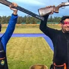 Fátima Gálvez y Alberto Fernández logran el bronce para España en la Copa del Mundo de foso olímpico mixto
