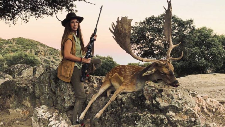 cazadora gamo