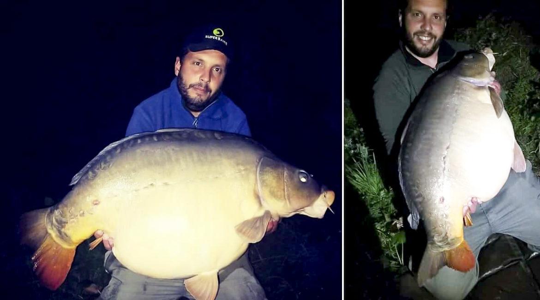Pesca una carpa royal de 22 kilos que llevaba diez días intentando capturar
