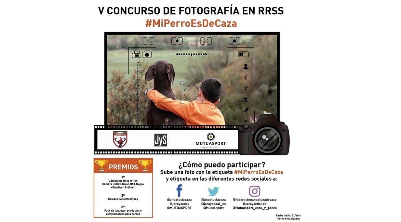 La FAC, Jara y Sedal y Mutuasport convocan el V Concurso Fotográfico en Redes Sociales #MiPerroEsDeCaza