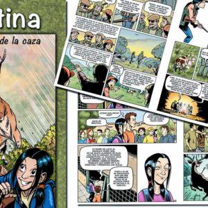 Mutuasport lanza un cómic de caza gratuito para acercar la actividad cinegética a los jóvenes