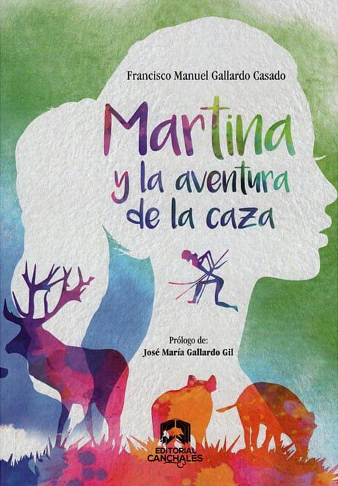 Portada de la novela Martina y la aventura de la caza.