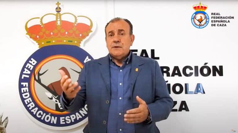 Manuel Gallardo, durante su intervención.