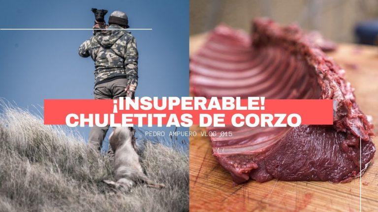 Caza una hembra de corzo y prepara su carne de forma sorprendente