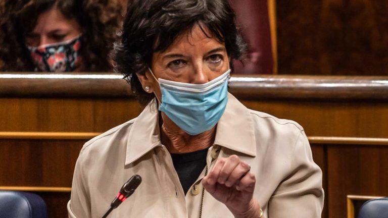 María Isabel Celaá, ministra de Educación y Formación Profesional del Gobierno de España. ©Shutterstock