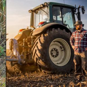 Un agricultor desplaza la frontera entre Bélgica y Francia con su tractor porque le estorbaba el mojón