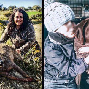 Bea Alcoya, la madre cazadora que explica por qué inculcará la caza a su hijo
