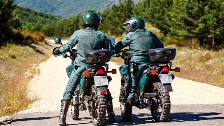 Dos agentes del Seprona de la Guardia Civil. © Guardia Civil