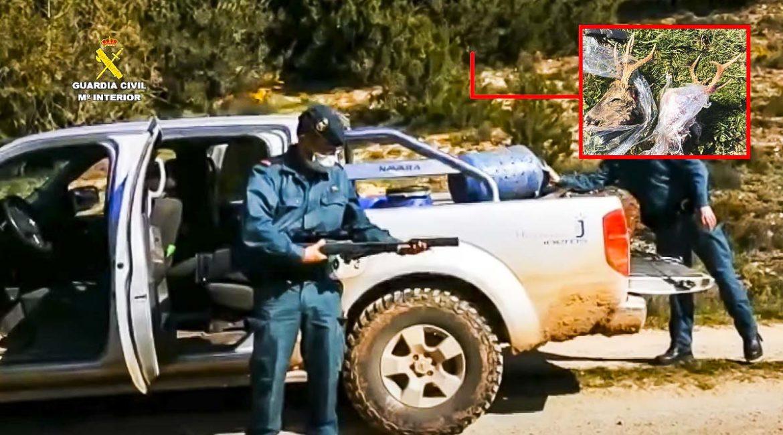 El Seprona detiene en Burgos a dos furtivos que llevaban un rifle en este recoveco