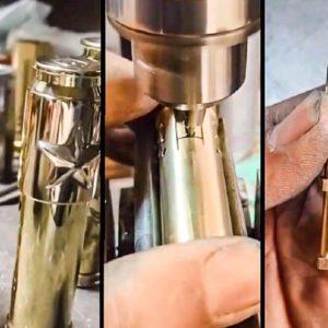 Cómo fabricar un mechero con el casquillo de una bala
