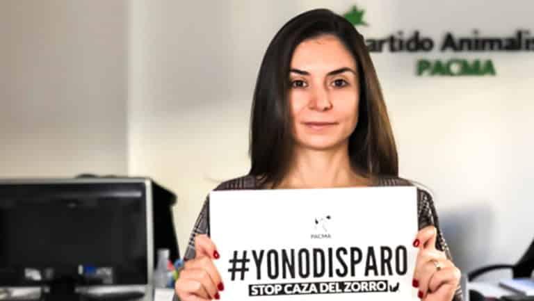 Laura Duarte, candidata de PACMA a la Comunidad de Madrid.