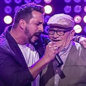 Emotivo momentazo televisivo entre un padre y un hijo cazador en una gala en directo