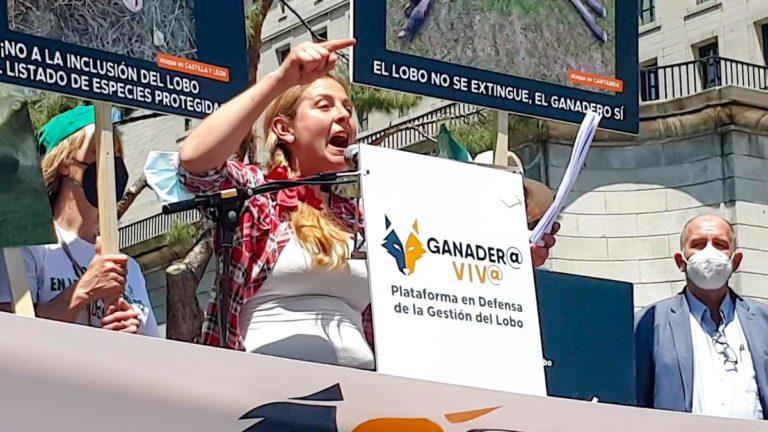 Marta García (Ganadería Val De Mazo). ©Ángel Vidal