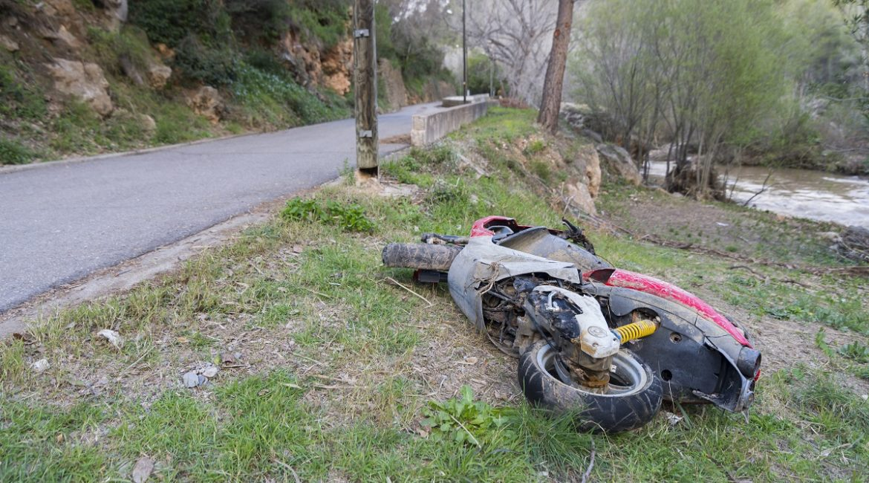Muere un motorista tras chocar contra un jabalí en Barcelona