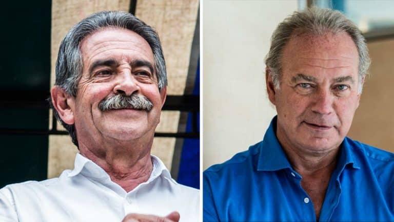 Miguel Ángel Revilla y Bertín Osborne.