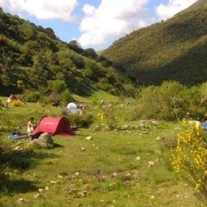 Cien 'hippies', denunciados por llevar quince días instalados en la Sierra de la Demanda