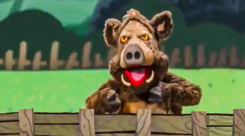 Este jabalí asturiano arrasa en Twitter con su canción «toy repunante»