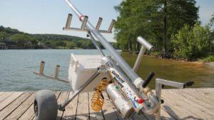 Crean un cañón para lanzar el anzuelo a 300 metros