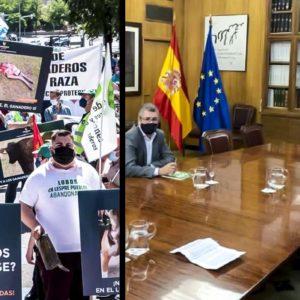 «El MITECO se reunió con el delincuente de Lobo Marley pero no con los 700 ganaderos que fuimos a Madrid»