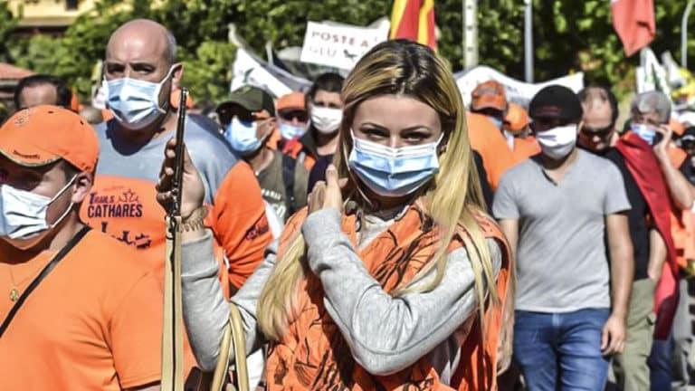 manifestación mundo rural Francia