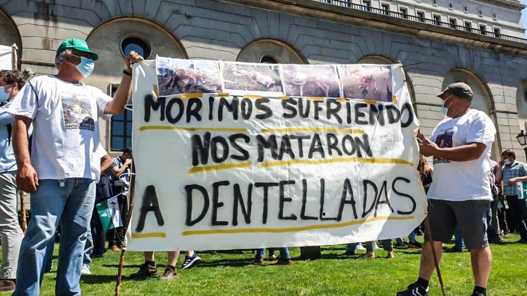 Otro mensaje reivindicativo. ©Ángel Vidal