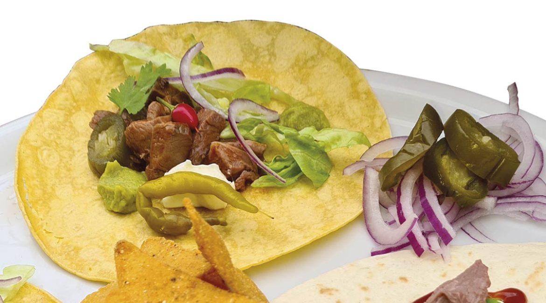 Receta de tacos mexicanos con carne de corzo guisado